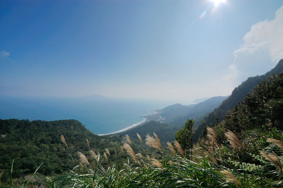Overlooking Guishan Island at Mountain Pass