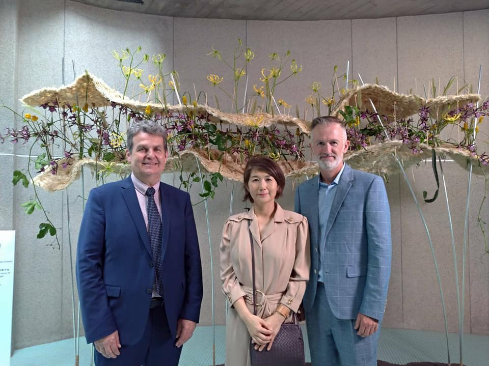 Taiwan-France floral art exhibition to unveil in Zhuangwei