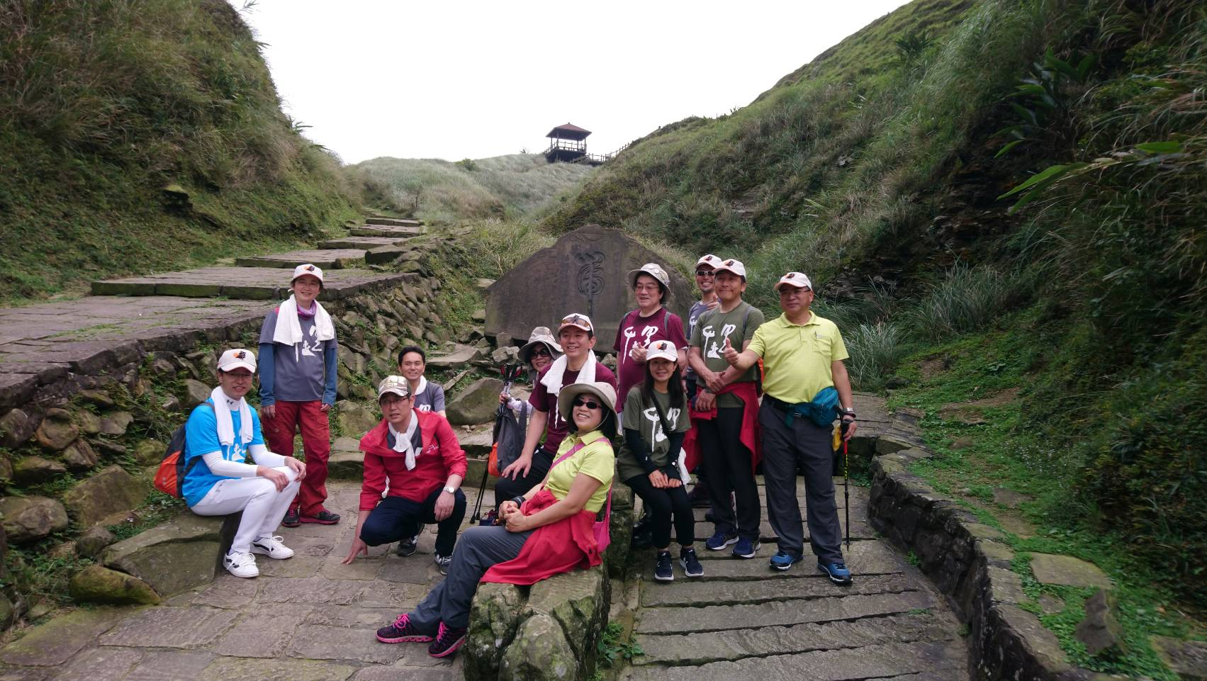 In promotion of hiking trail tourism in Taiwan and Japan, representatives of Miyagi in Japan visit Caoling Old Trail